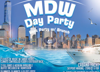 MDW Day Party, boat brunch