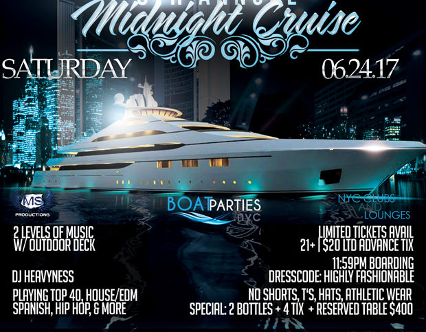Midnight Cruise, yacht party