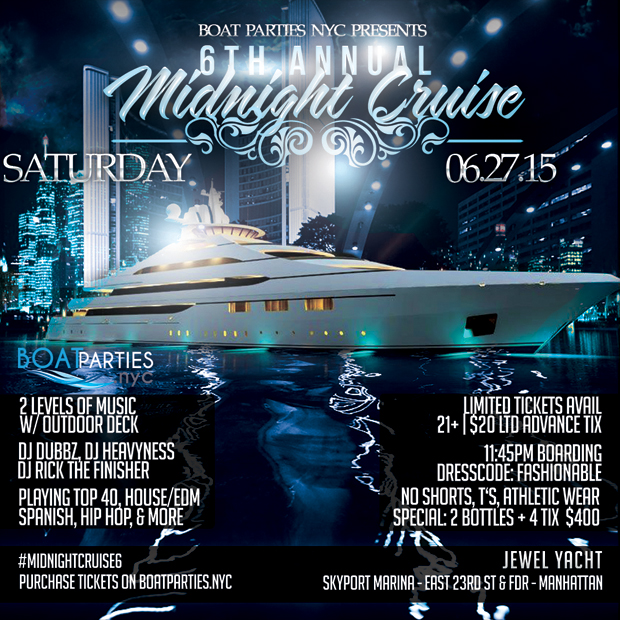 Midnight Cruise Boat Party