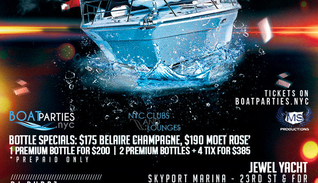 NYC Booze Cruise, Boat Party